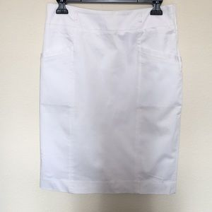 H&M pencil skirt in white